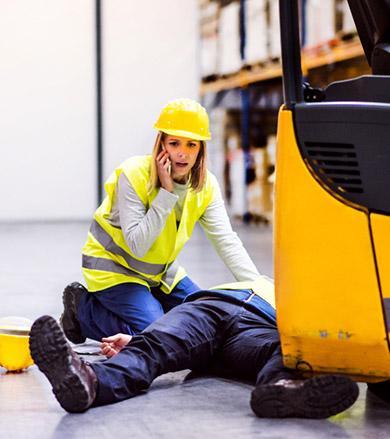 Accident au travail Evry